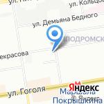 Женская консультация на карте Новосибирска