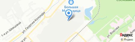 ПромСнабСибирь на карте Новосибирска