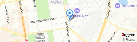 Пикник на карте Новосибирска