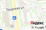 Схема проезда до компании Декоричи Сибирь в Новосибирске