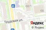 Схема проезда до компании Адвокатский кабинет Матлахова А.А. в Новосибирске