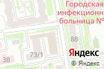 Схема проезда до компании Инотекст в Новосибирске