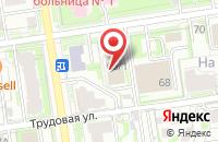 Схема проезда до компании Сибирский Инвестиционный Клуб в Новосибирске