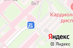 Схема проезда до компании Государственный Новосибирский Областной Клинический Диагностический Центр в Новосибирске