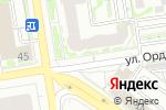 Схема проезда до компании Фишка в Новосибирске