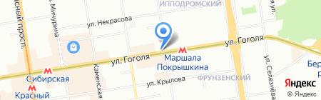 Торговая Площадь на карте Новосибирска