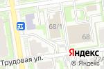Схема проезда до компании Альянс, ЧОУ в Новосибирске