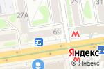Схема проезда до компании Одежда в Новосибирске