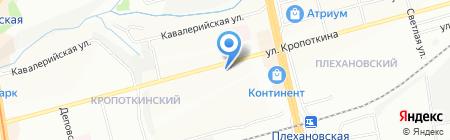 Жилищный Фонд на карте Новосибирска