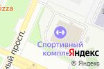 Схема проезда до компании Пловец в Новосибирске