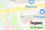 Схема проезда до компании Альфа-Трейд в Новосибирске