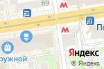 Схема проезда до компании BonApe в Новосибирске