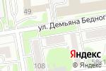 Схема проезда до компании Ceddar.ru в Новосибирске