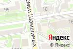 Схема проезда до компании Шашлычный двор в Новосибирске