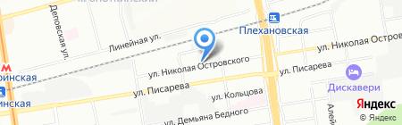 Киловатт на карте Новосибирска