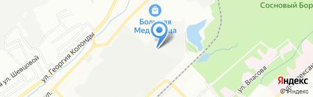 Рестек на карте Новосибирска