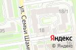 Схема проезда до компании Ладошки в Новосибирске