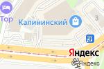Схема проезда до компании Coffee PreSS в Новосибирске