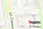 Схема проезда до компании Эллайн в Новосибирске