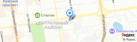 Камея Со на карте Новосибирска