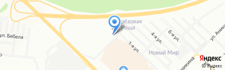 Мешок на карте Новосибирска