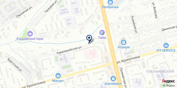 ЖЭУ №1 на карте Новосибирске