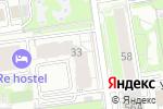 Схема проезда до компании Авант Групп в Новосибирске