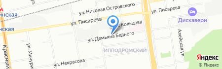 ABCпотолки.ру на карте Новосибирска