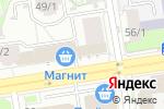 Схема проезда до компании Пенная Пельменная в Новосибирске