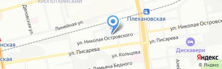 ГГС-Термо на карте Новосибирска