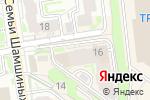 Схема проезда до компании Транспортные Решения в Новосибирске