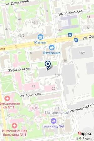 МУ АТП МЕДТРАНС-1 на карте Новосибирска