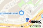 Схема проезда до компании Очки в кармане в Новосибирске