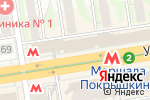 Схема проезда до компании КОФЕБУЛКА в Новосибирске