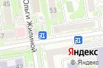Схема проезда до компании Qiwi в Новосибирске