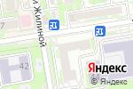 Схема проезда до компании Юникон-Сервис в Новосибирске