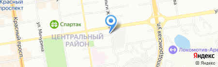 ЦентрСерт на карте Новосибирска