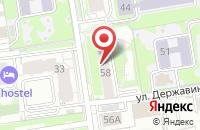 Схема проезда до компании Хорошие Подарки в Новосибирске