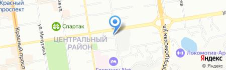 Климатехника Сибирь на карте Новосибирска