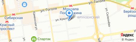 НСК-Радон на карте Новосибирска