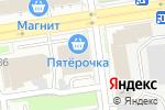 Схема проезда до компании Статус кофе в Новосибирске