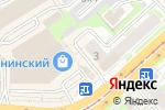 Схема проезда до компании Айрис Оптика в Новосибирске