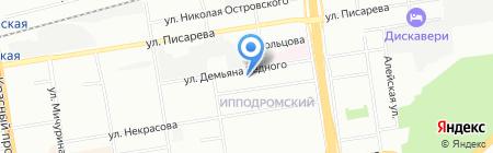 У Наталии на карте Новосибирска