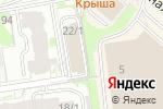 Схема проезда до компании Стадия НСК в Новосибирске