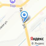 КонтинентЪ-Хлеб на карте Новосибирска