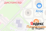 Схема проезда до компании МАНЕ в Новосибирске