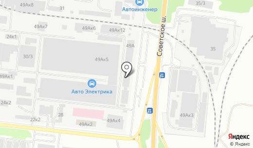 D3прокат. Схема проезда в Новосибирске