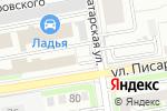 Схема проезда до компании Dekorkamni в Новосибирске