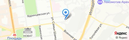 Оригинал на карте Новосибирска