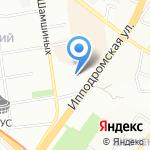 Центр флористического дизайна Ирины Молодцевой на карте Новосибирска